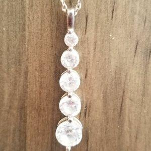 Jewelry - 925 CZ Pendant Necklace